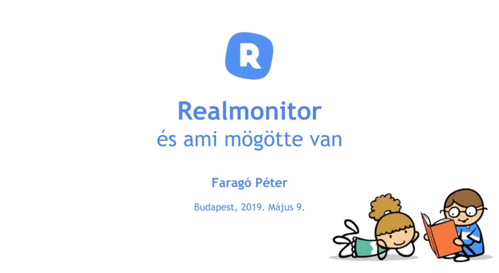 Videó: Realmonitor online bemutató, május 9.